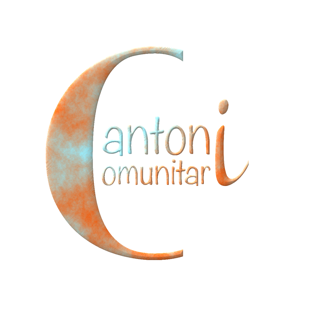 Logo de Cantoni Comunitari, l'eina de dinamització comunitària de Cantonigròs